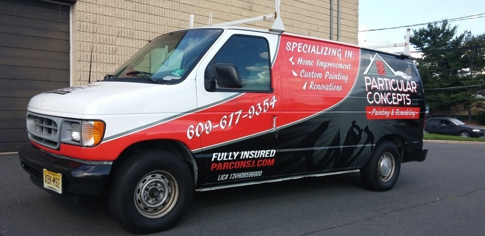 contractor vehicle wraps and graphics in Omaha NE